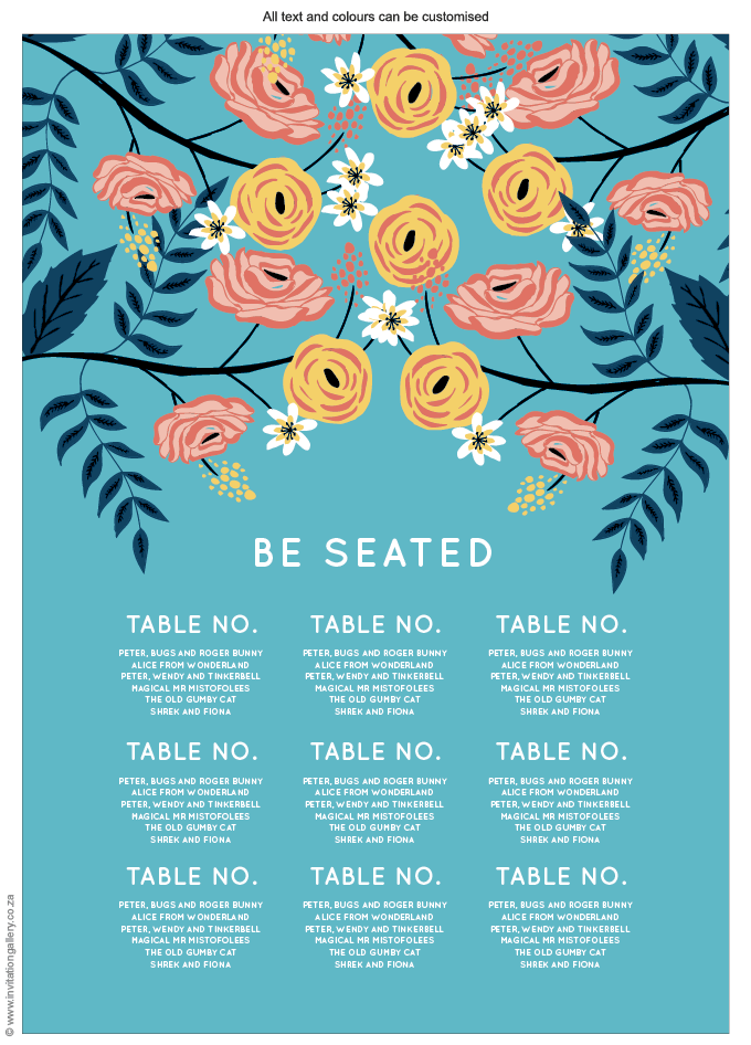 Seating plan - Breezy: Invitation-gallery-wedding-stationery-flower-blossom-garden-seating.png