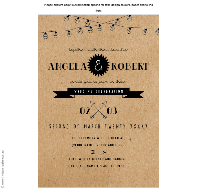 Invitation - Salt and Pepper: invitation-gallery-wedding-stationery-naked-bulbs-invitation-front.png