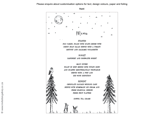 Menu - Midsummer Night: invitation-gallery-wedding-stationery-quirky-owl-rabbit-menu.png