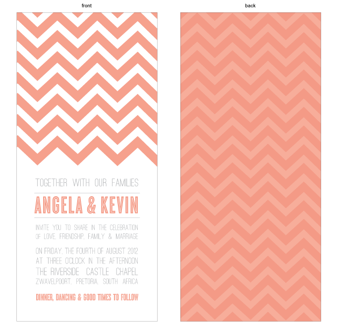 Invitation - Chevron: SOL001-002-INV01-FRONT-AND-BACK.png