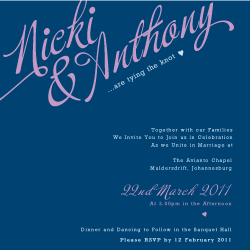 Wedding Invitation: His & Hers, designed by Participating studio: Studio Sol