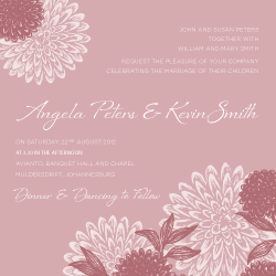 Wedding Invitation: Flora, designed by Participating studio: Studio Sol
