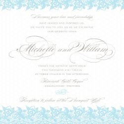 Wedding Invitation: Elegance, designed by Participating studio: Studio Sol