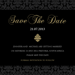 Wedding Invitation: Baroque, designed by Participating studio: Studio Sol