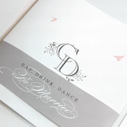 Wedding Invitation: Aviary, designed by Participating studio: Studio Sol