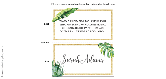 Name card - Tropical Dream: invitation-gallery-wedding-stationery-tropical-beach-name-card.png