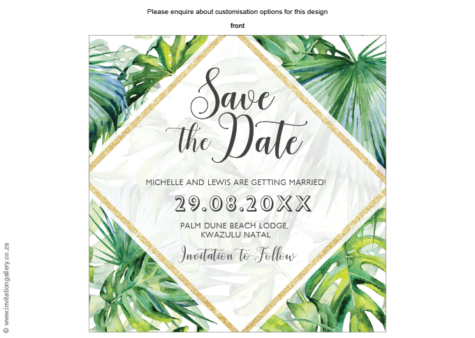 Save the date - Tropical Dream: invitation-gallery-wedding-stationery-tropical-beach-save-the-date.png