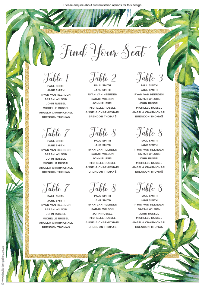 Seating plan - Tropical Dream: invitation-gallery-wedding-stationery-tropical-beach-seating-plan.png