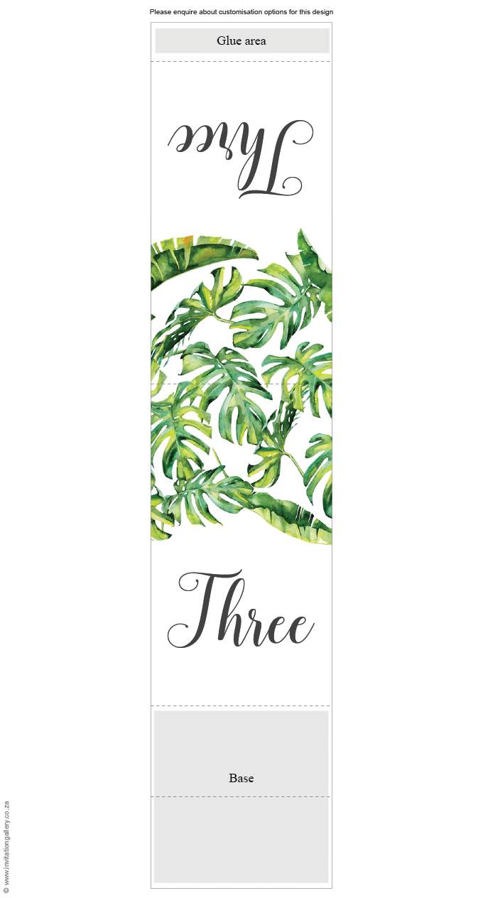Table number - Tropical Dream: invitation-gallery-wedding-stationery-tropical-beach-table-number.png
