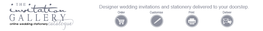 The Invitation Gallery - Gorgeous, affordable wedding stationery online